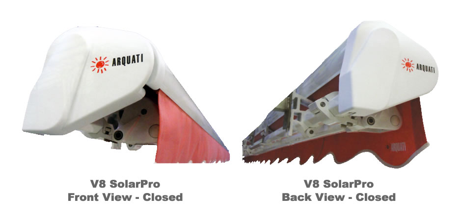 Window Shades V 8 Solarpro Motorized Retractable