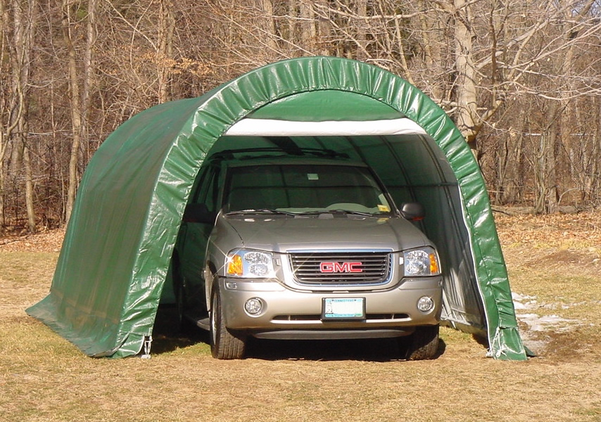 Shelter King Portable Garages : Storage shed party tent learn how sheds nguamuk