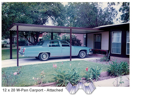 Single car carport kits sale save 20 12 39 x 20 39 attached aluminum carport cover w pan roof - Ft achi modular home diy for sale only ...