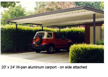 Double Carport Kits Sale Save 20 20 X 20 Aluminum