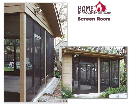 Roof Screen Wall : Screen wall kit only no roof height priced per lineal foot
