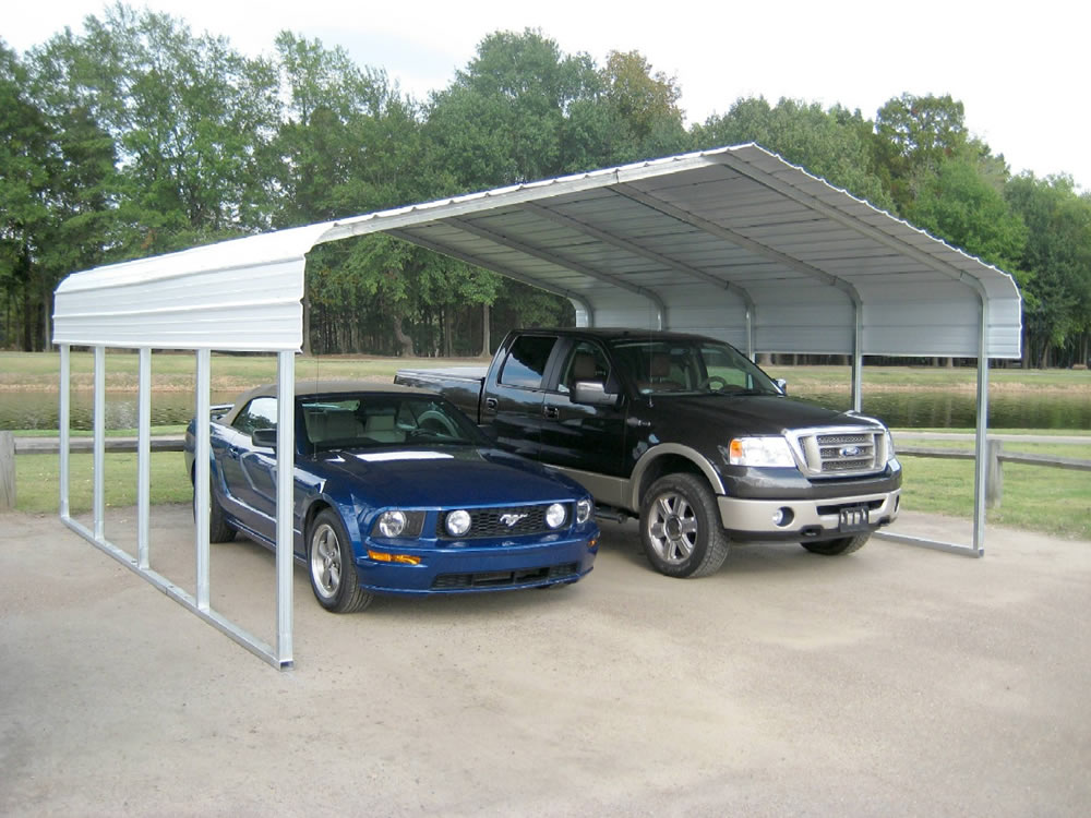 Steel Carport Kits Winte Save 20 Versatube 20 X 20