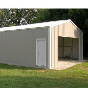 20 Ft X 18 Ft X Ft Versatube Steel Frontier Garage Kit