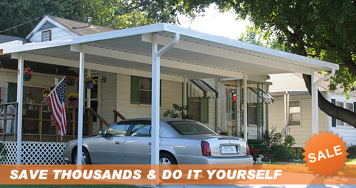 carport do it yourself metal carport kits. Black Bedroom Furniture Sets. Home Design Ideas