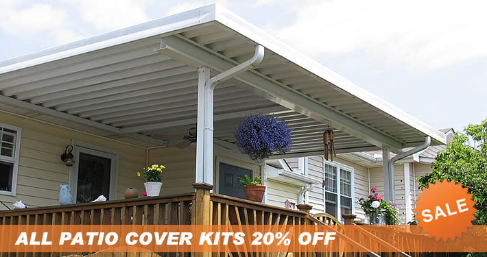 Do it yourself patio covers carport kits screen for Do it yourself patio covers